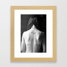 Impressions in Air Framed Art Print
