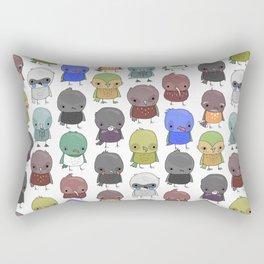 NZ Birdz Rectangular Pillow