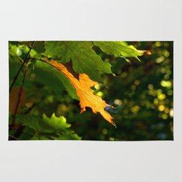 Gold Leaf Rug