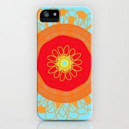 Asymmetrical Sunset iPhone Case