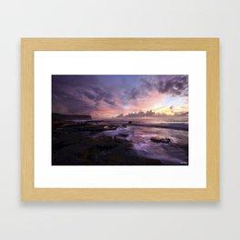 Magic light Framed Art Print
