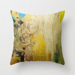 Hasenfusz / Rabbitfoot Throw Pillow
