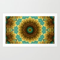 Solomon Bay Coral Reef Art Print
