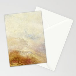 A mountain scene by Joseph Mallord William Turner, 1845 Stationery Cards
