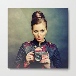 Camera Beauty Arax Metal Print