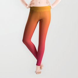 Ombre | Orange and Pink Leggings