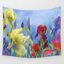 Blue Skies and Happiness Wall Tapestry
