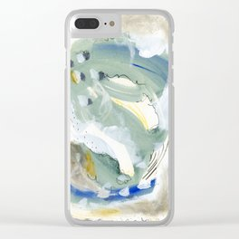 Smoky Satin Clear iPhone Case