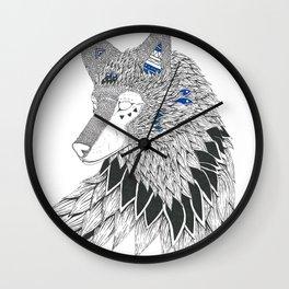 O-oookami Wall Clock