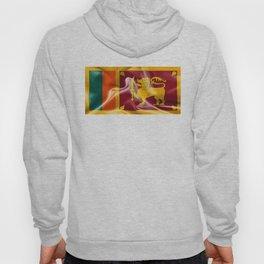 Sri Lanka Flag Hoody