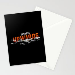 Onwards Upwards Stationery Cards
