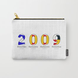 2009 - NAVY - My Year of Birth Carry-All Pouch