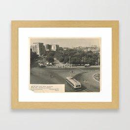 Old Baku Framed Art Print