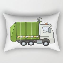 GarbageTruck Rectangular Pillow