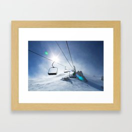 Chilled Framed Art Print