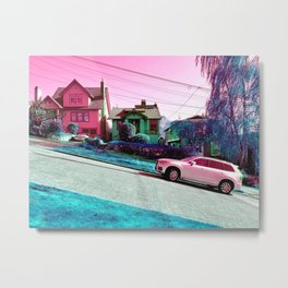Break Ya Neck Metal Print