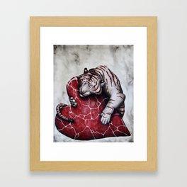 My Valentine Framed Art Print