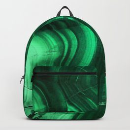 Malachite Texture Backpack