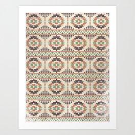The Native Pattern Art Print
