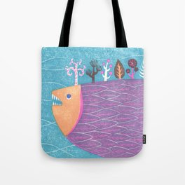 Fish Forest Tote Bag