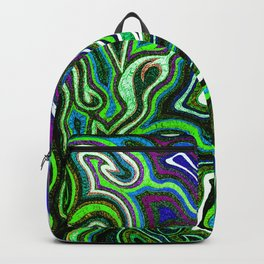 Abstract #1 - I Blues Greens Backpack