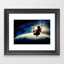 care-free Framed Art Print