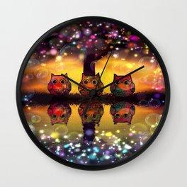 owl-110 Wall Clock