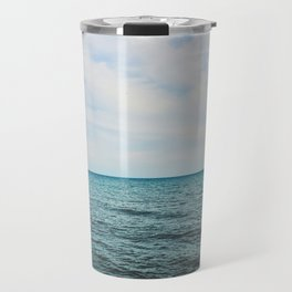 Summer lake Travel Mug
