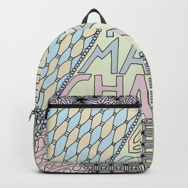 Be Kind Make Change Backpack