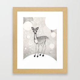 Three Eyed Deer Framed Art Print