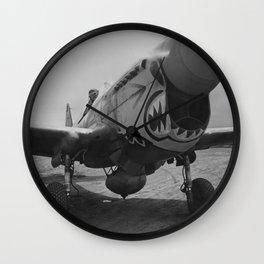 P-40 Warhawk Wall Clock