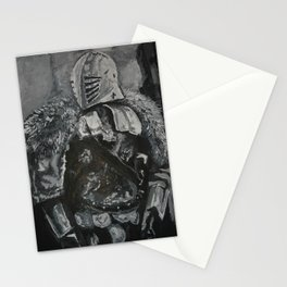 Winter Knight Stationery Cards