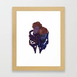 Lara and Leon Framed Art Print