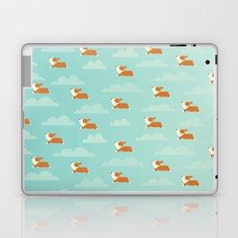 Angel Corgi Laptop & iPad Skin