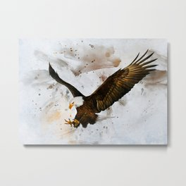 Voice of The Eagle Metal Print