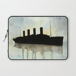 Titanic watercolour Laptop Sleeve