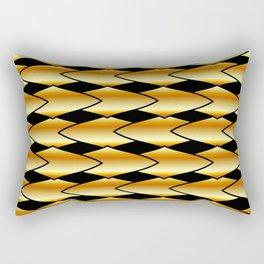 Luxury golden texture Rectangular Pillow