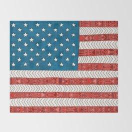 USA Throw Blanket