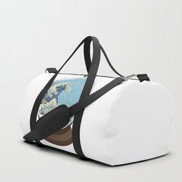 The Great Wave Snow Globe Duffle Bag