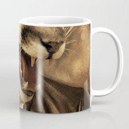 Animal tee vintage graphic design Coffee Mug