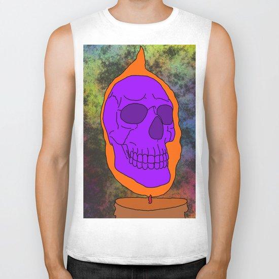 Halloween Skull Biker Tank