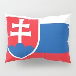 Flag of Slovakia, High Quality Image Pillow Sham