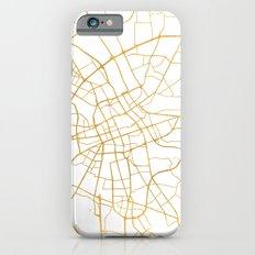 WARSAW POLAND CITY STREET MAP ART Slim Case iPhone 6s