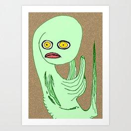 MUDBUG Art Print