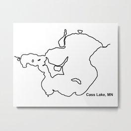 Cass Lake, MN Metal Print