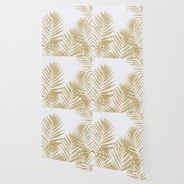 Fern Golden Wallpaper