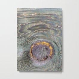 Materia 8 - Wood Metal Print