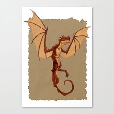 Here be dragons Canvas Print