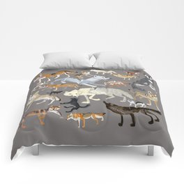 Wolves of the world 1 Comforters