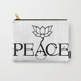 Peace Carry-All Pouch